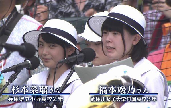 2015甲子園開会式画像