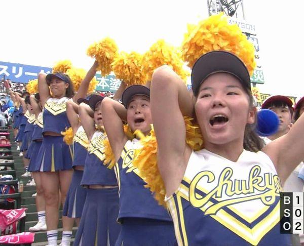 中京大中京チアリーダー